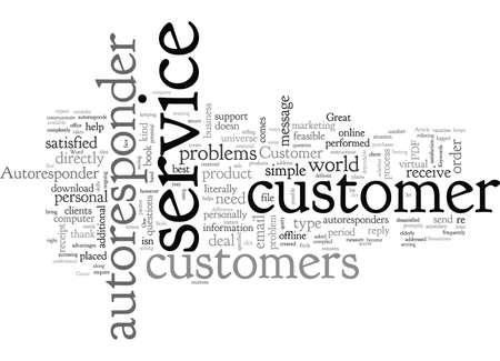 Autoresponder Customer Service