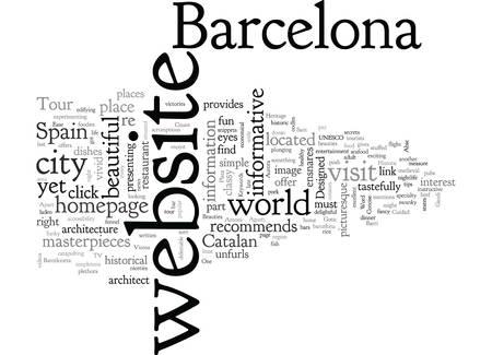 Barcelona Tour Illustration
