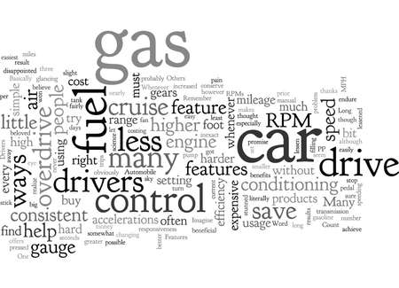 Automobile Features That Can Save Fuel
