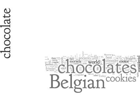 belgian chocolate cookie