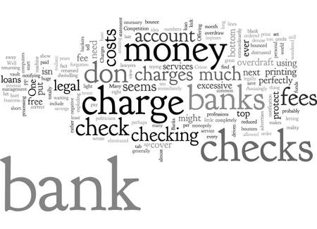 Bank Charges that are a Crime Illusztráció
