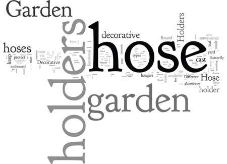 Artistic Garden Hose Holders