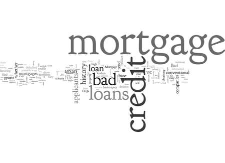Bad Credit Mortgage Arrears Loan