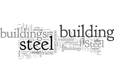 Benefits Of Steel Buildings Ilustrace