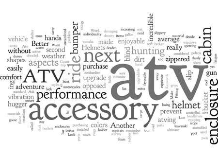 Atv Accessories To Make That Next Ride Unforgettable Ilustração