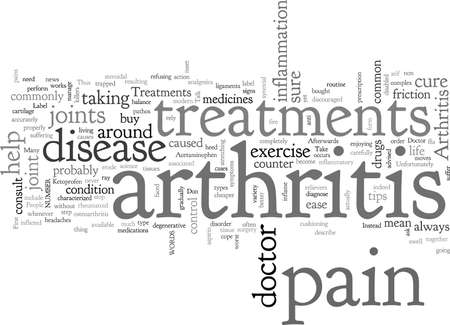 Arthritis Treatments Stock Illustratie