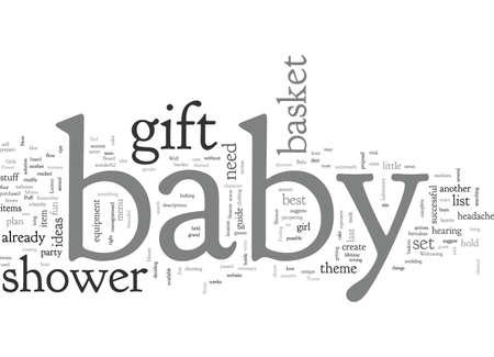 babyshower Banque d'images - 132214651
