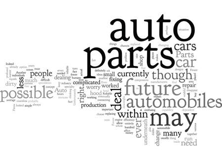 Auto Parts of the Future