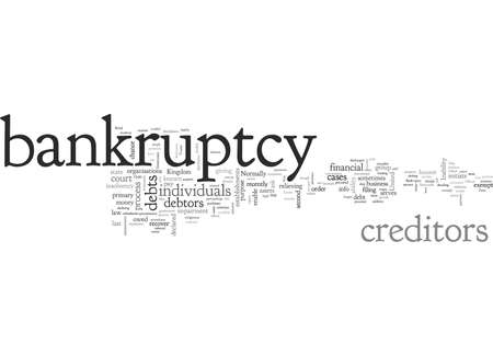 Bankruptcy Not For The Faint Hearted Ilustração