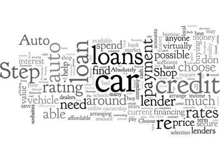 Auto Loans In Steps