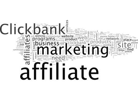 Become A Super Affiliate With Clickbank Иллюстрация