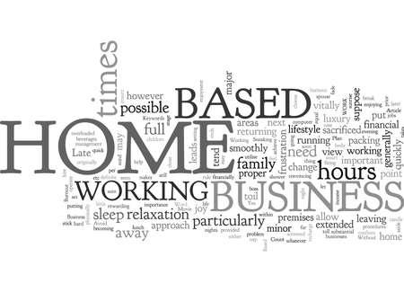 Avoid Home Based Business Burnout Illustration