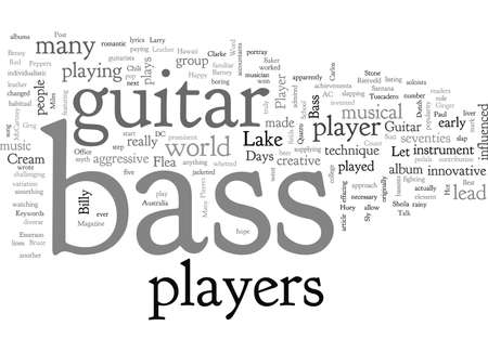 Bass Guitar Players Who Changed The World