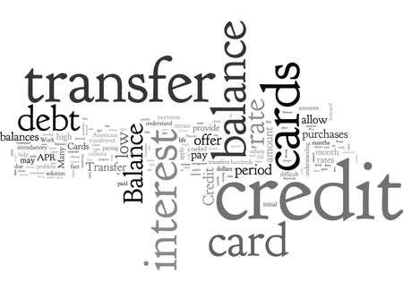 Balance Transfer Credit Cards A Way To Consolidate Debt