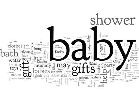 Baby Shower Gifts Perfect Gift For A Mad Mummy And Daddy Banque d'images - 132214705