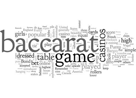 Baccarat The History