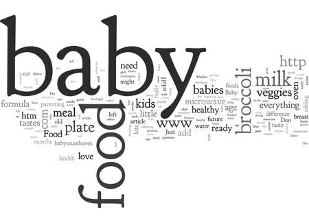 Baby Food Healthy Choices You Make That Matter To Baby