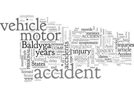 Auto Accident Factoids Illustration