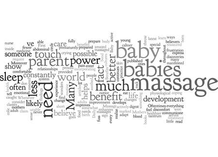 benefits of a baby massage