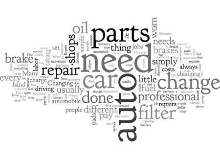 Auto Parts for Necessary Repairs