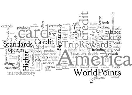 Bank Of America Credit Cards A Look At The Top Standard-Bild - 132214778