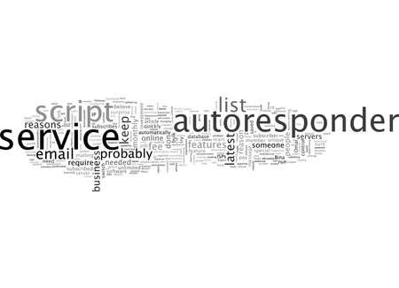 Autoresponder-e-mailservice versus software