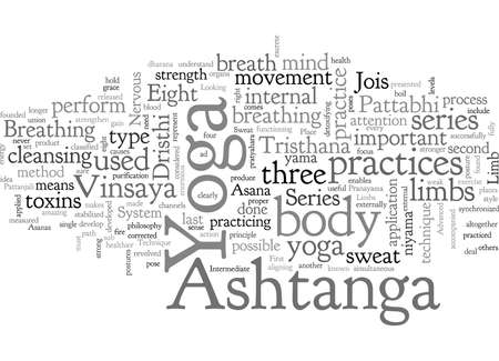ashtanga yoga Stock Illustratie