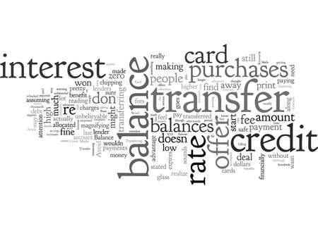 Avoid These Common Credit Card Balance Transfer Mistakes Standard-Bild - 132214817