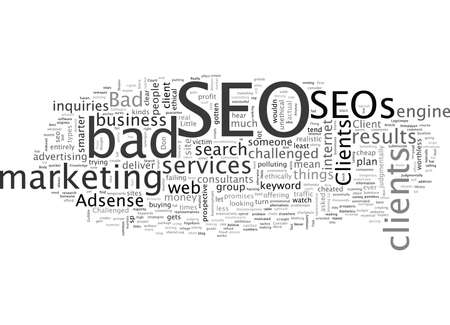 Bad SEOs What about Bad SEO Clients