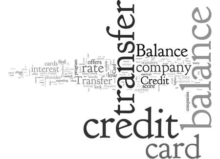 Balance Transfer Credit Card Offers Join the Wave