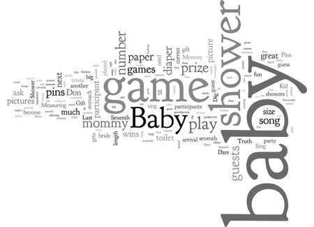 babygameshower Banque d'images - 132214851