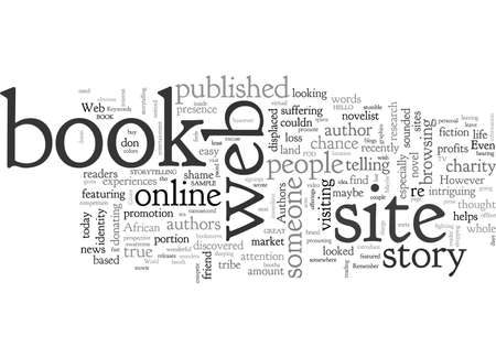 Authors Do You Have A Web Site To Promote Your Book