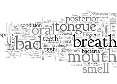 Bad Breath Treatment Steps Know The Right Things to Do Illustration