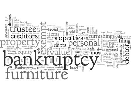 bankruptcy furniture