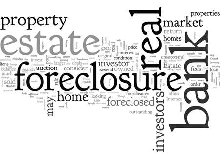 Bank Foreclosures