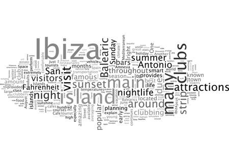Balearic Island Ibiza Tourist Attractions