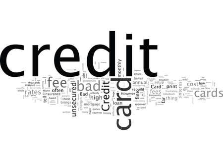Schlechte Kreditkarten wie Sie hohe Gebühren vermeiden können