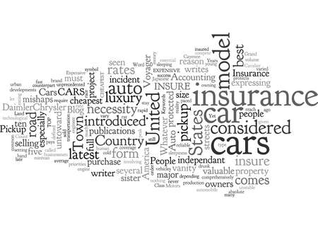 Auto Insurance Be It Cheap Or Expensive