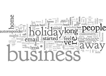 Balance Your Holidays Business Ilustração