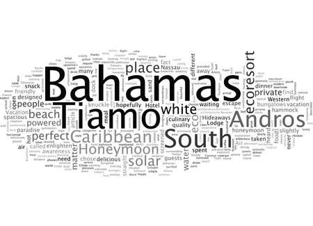 Bahamas Honeymoon At Tiamo On South Andros An Ecoresort
