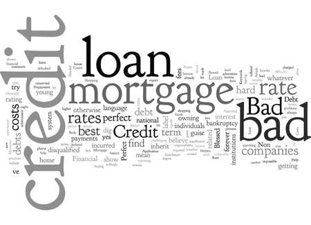 Bad Credit Loan Mortgage Rate And The Good Lender