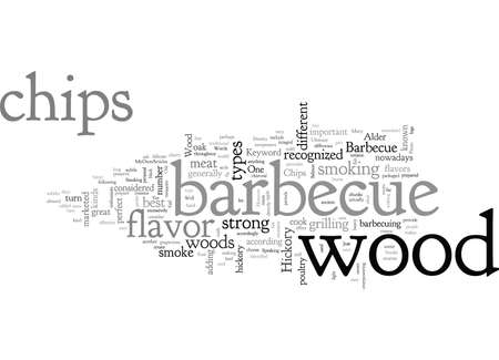 Barbeque Wood Chips 向量圖像