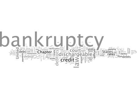Bankruptcy Law Some Important Facts 일러스트