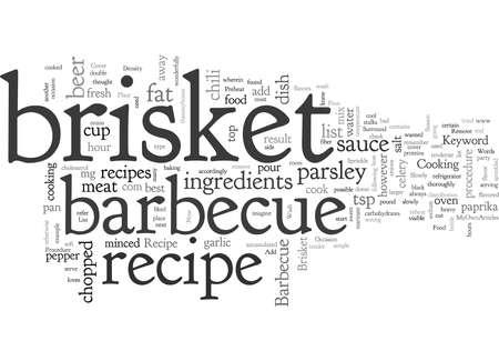 barbecue brisket recipe