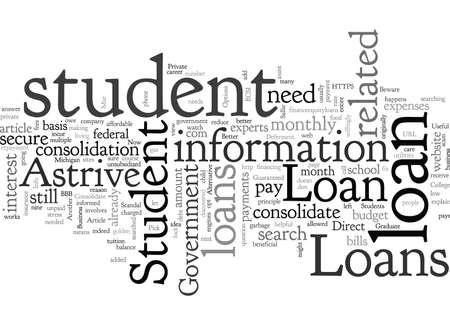 Astrive Student Loans Useful Info Banco de Imagens - 132215115
