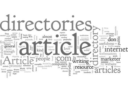 Article Directory Anyone