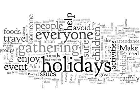 Avoid Conflicts when you Travel for the Holidays