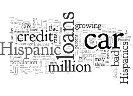 Bad Credit Car Loans For Hispanic Buyers