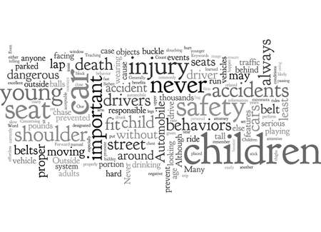 Automobile Safety For Children Фото со стока - 132215150