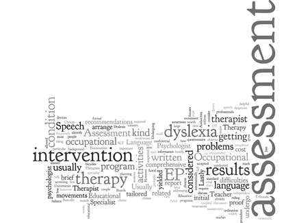 Assessment Choices For Adult Dyslexia